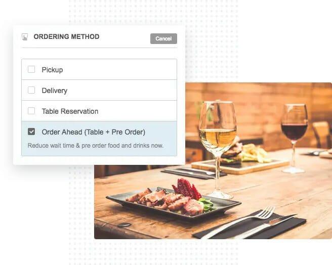 Food Pre-Ordering 1