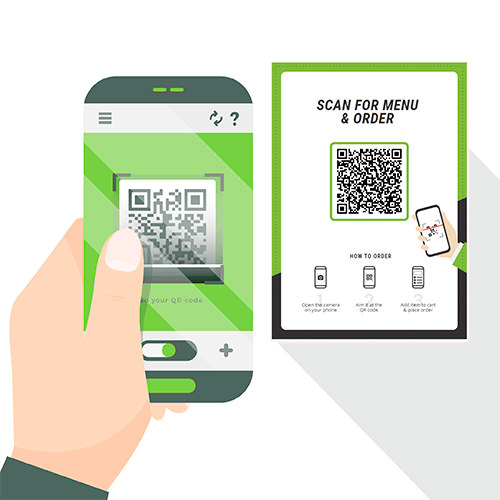 contactless at table ordering app